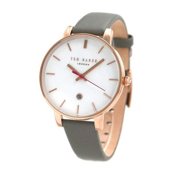 テッドベーカー レディース 腕時計 カレンダー ホワイトシェル TE50310001 TED BAKER ケイト 40mm 時計【あす楽対応】