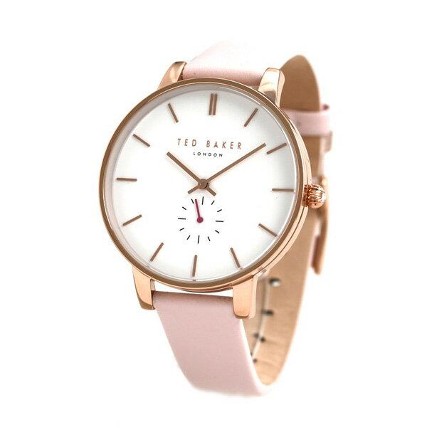 テッドベーカー レディース 腕時計 スモールセコンド 革ベルト TE50310003 TED BAKER オリビア 40mm 時計【あす楽対応】