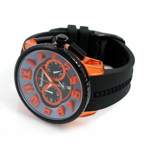 テンデンス アルテックガリバー クロノグラフ 50mm メンズ TY146003 TENDENCE 腕時計 ブラック 時計【あす楽対応】