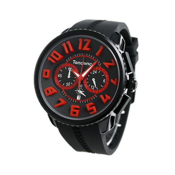 テンデンス アルテックガリバー レオン コラボ 限定モデル TY146006 TENDENCE 腕時計 オールブラック 時計