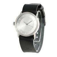 TIDwatches時計No.1レザーベルト36mmTID01-36SV/BKティッドウォッチズ