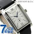 ティファニー グランド スモールセコンド メンズ 腕時計 Z0030.13.10A21A40A TIFFANY&Co. シルバー×ブラック サテンレザー 新品【あす楽対応】