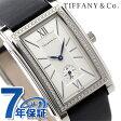 ティファニー グランド ダイヤモンド スモールセコンド メンズ 腕時計 Z0030.13.10B21A40A TIFFANY&Co. シルバー×ブラック サテンレザー 新品