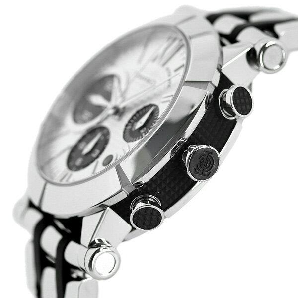 【25日は全品5倍でポイント最大22倍】ティファニーアトラスジェントクロノグラフ42mm自動巻きメンズ腕時計Z1000.82.12A21A00ATIFFANY&Co.シルバー×ブラックメタルベルト新品時計【あす楽対応】
