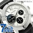 ティファニー アトラス ジェント クロノグラフ 42mm Z1000.82.12A21A91A TIFFANY&Co. 腕時計 自動巻き ブラック 新品