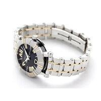 ティファニーアトラス30mm自動巻きK18YGレディース腕時計Z1300.68.16A10A00ATIFFANY&Co.ブラック×イエローゴールドメタルベルト新品