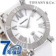 ティファニー アトラス 36mm レディース 腕時計 Z1301.11.11A20A41A TIFFANY&Co. クオーツ ホワイト サテンレザー 新品
