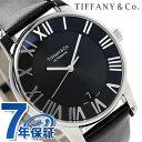 ティファニー アトラス ドーム 自動巻き メンズ 腕時計 Z1800....