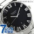 ティファニー アトラス ドーム XL 自動巻き メンズ 腕時計 Z1810.68.10A10A00A TIFFANY&Co. ブラック メタルベルト 新品