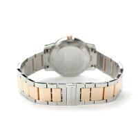 ティファニーアトラスドームK18RGレディース腕時計Z1830.11.13A21A00ATIFFANY&Co.クオーツシルバー×ローズゴールドメタルベルト新品