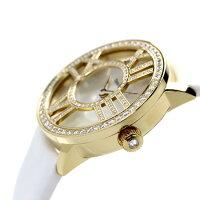 ティファニーアトラスカクテルラウンド26mmK18YGダイヤモンドレディース腕時計Z1900.10.50E91A40BTIFFANY&Co.ホワイトシェル×イエローゴールドサテンレザー新品