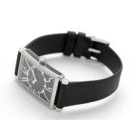 ティファニーギャラリー22mmダイヤモンドレディースZ3001.10.10E10C68ATIFFANY&Co.腕時計クオーツブラックカーフレザー新品