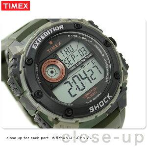 タイメックス バイブ ショック バイブ・アラーム メンズ T49981 TIMEX 腕時計 クオーツ ブラック×グリーン