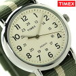タイメックス ウィークエンダー セントラルパーク 38mm 2P72100 TIMEX 腕時計 ホワイト×カーキ【あす楽対応】