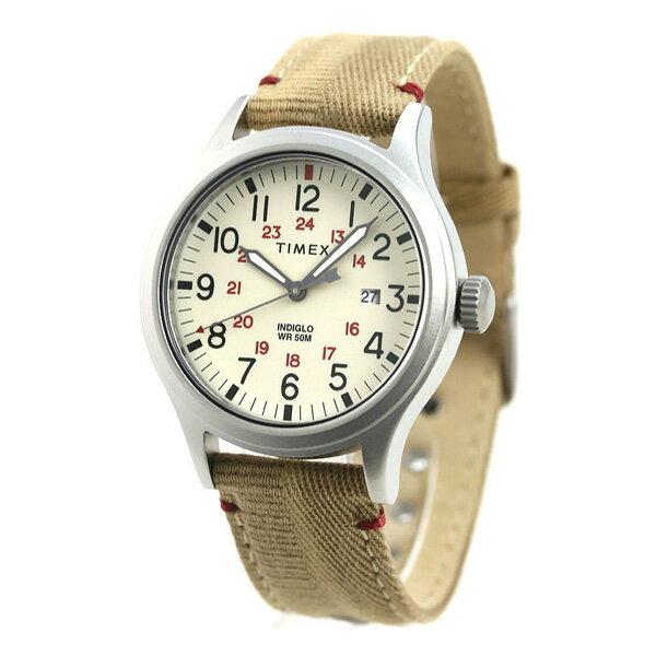 【店内ポイント最大43倍 26日1時59分まで】 タイメックス アライド 40mm カレンダー ベージュ TW2R61000 TIMEX メンズ 腕時計 時計【あす楽対応】