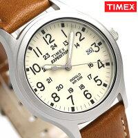 ffa2cbecb6 タイメックス スカウトメタル 36mm メンズ 腕時計 TW4B11000 TIMEX クリーム×ブラウン ...