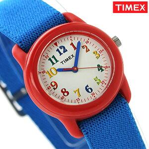 [新品][1年保証]タイメックス ユース キッズ 腕時計 クオーツ TW7B99500 TIMEX ホワイト×ブル...