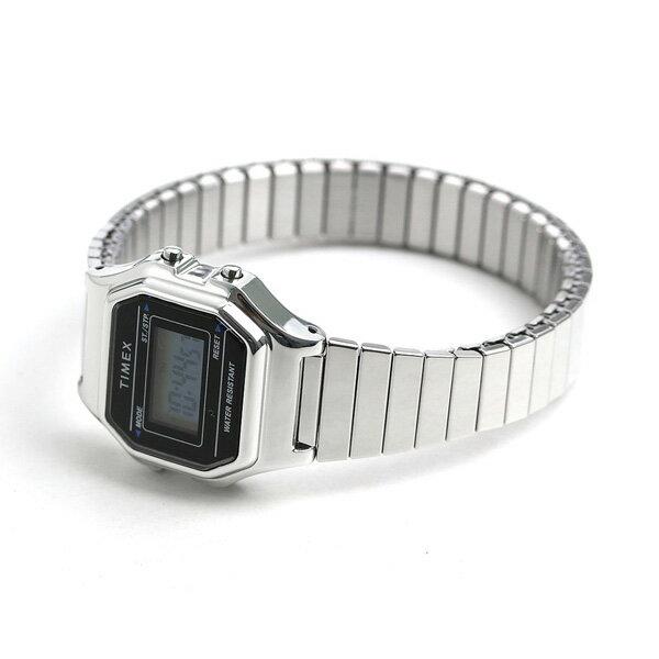 店内ポイント最大43倍!16日1時59分まで! タイメックス 腕時計 クラシック デジタルミニ レディース TW2T48200 TIMEX ブラック【あす楽対応】