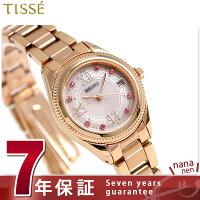 セイコーティセヴィーナススパクリスマス限定モデルSWFH066SEIKOTISSE腕時計ピンク
