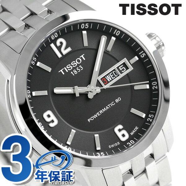 ティソ T-スポーツ PRC 200 オートマチック 39mm メンズ T055.430.11.057.00 TISSOT 腕時計 ブラック:腕時計のななぷれ