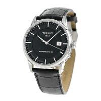 ティソT-クラシックラグジュアリーオートマチック41mmT086.407.16.051.00TISSOT腕時計ブラック