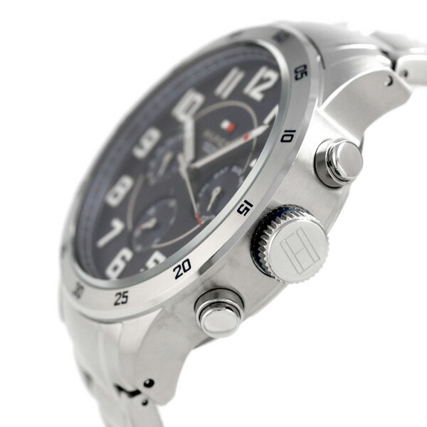 トミーヒルフィガー トレント 46mm マルチファンクション 1791053 腕時計 TOMMY HILFIGER ブルー 時計【あす楽対応】
