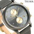 トリワ TRIWA ランセン クロノグラフ ウォルター 38mm 腕時計 LCST101-CL061613 グレー【あす楽対応】