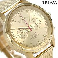 トリワTRIWAネビルゴールド42mm腕時計NEST104-ME021313ゴールド