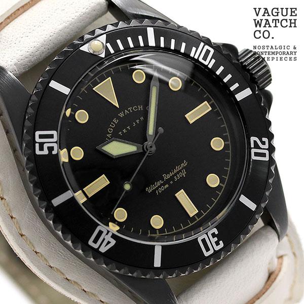 10日なら!店内ポイント最大45倍! ヴァーグウォッチ ブラック サブ 40mm メンズ 腕時計 BS-L-CB003 VAGUE WATCH Co. 時計
