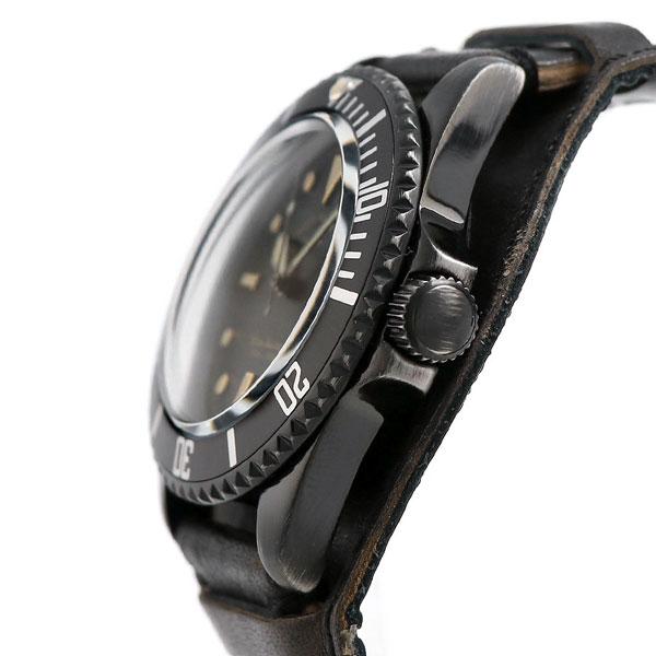 10日なら!店内ポイント最大45倍! ヴァーグウォッチ ブラック サブ 40mm メンズ 腕時計 BS-L-HB001 VAGUE WATCH Co. 時計
