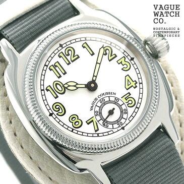 ヴァーグウォッチ クッサン ミル 32mm メンズ 腕時計 CO-L-007-03WT VAGUE WATCH Co. 時計