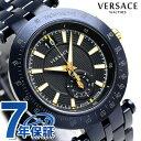 ヴェルサーチ 時計 メンズ VERSACE 腕時計 Vレース 42MM...