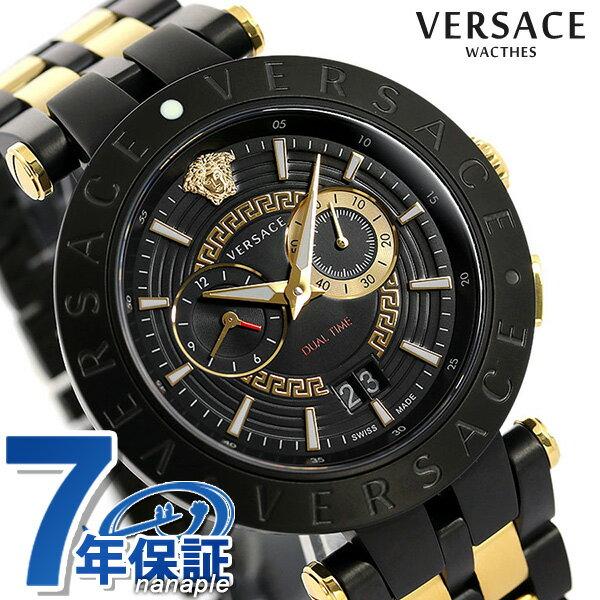 腕時計, メンズ腕時計  V 46mm VEBV00619 VERSACE