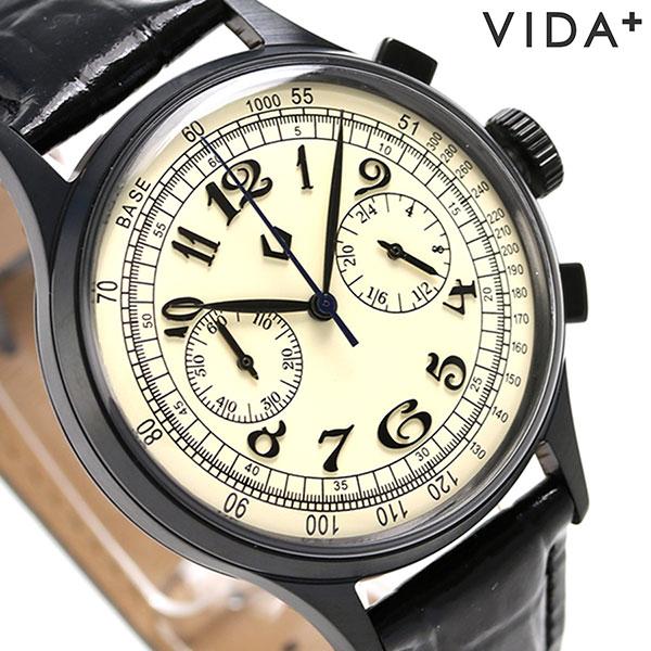 腕時計, メンズ腕時計 55433 VIDA 38mm 40219 BK-WHT
