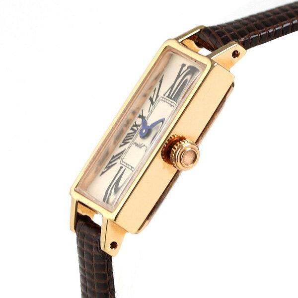 ヴィーダ プラス VIDA+ ミニョン 12mm レディース 腕時計 83923 LE-BR クリーム 時計