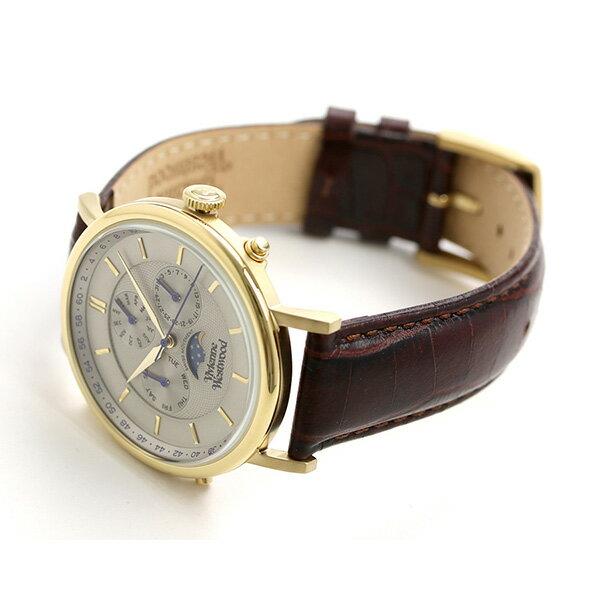 ヴィヴィアン 時計 メンズ ポートランド 40mm ムーンフェイズ 腕時計 VV164CHBR Vivienne Westwood