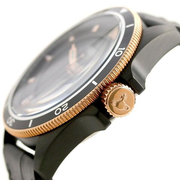 ヴィヴィアン 時計 メンズ タイムマシーン 44mm 腕時計 VV181RSBK Vivienne Westwood