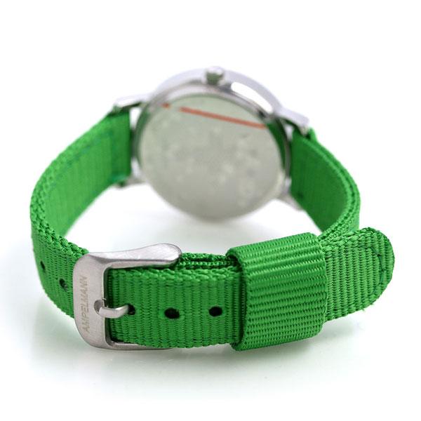 【当店なら!さらにポイント+4倍】 腕時計 キッズ 子供用 アンペルマン クオーツ 腕時計 AFB-2040-12 AMPELMANN グリーン 時計