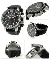 エンジェルクローバータイムクラフト限定モデルNTC48SBK-LIMITEDAngelCloverメンズ腕時計クロノグラフブラック