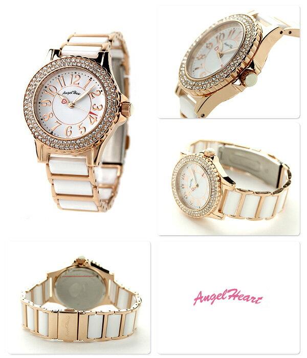 エンジェルハート ラブスポーツ レディース 腕時計 WL33CPGZ AngelHeart ホワイト×ピンクゴールド 時計