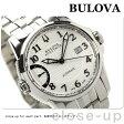 ブローバ アキュトロン キャリブレーター 歩度調整 63B161 BULOVA メンズ 腕時計 自動巻き ホワイト