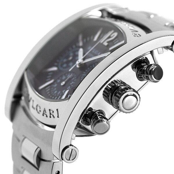 BVLGARI   ブルガリ 時計  ブルーグレー Assioma Chronograph 腕時計 ブルガリ AA44C14SSDCH (アショーマ  クロノグラフ) a569e7578d4
