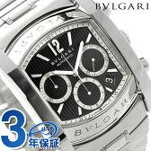 ブルガリ BVLGARI アショーマ クロノグラフ メンズ 腕時計 AA48BSSDCH