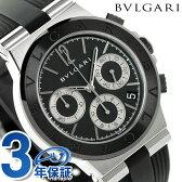 ブルガリ BVLGARI ディアゴノ 37mm クロノグラフ 腕時計 DG37BSCVDCH