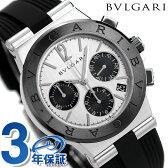 【今なら10,000ポイントバック!3月31日23:59まで!】ブルガリ BVLGARI ディアゴノ 37mm クロノグラフ 腕時計 DG37C6SCVDCH【あす楽対応】