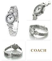 コーチマディソンクオーツレディース腕時計14502402COACHシルバー