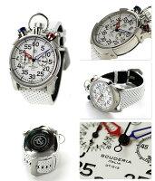 CTスクーデリアコルサ44mmクロノグラフメンズCS20111CTSCUDERIA腕時計ホワイトエナメル