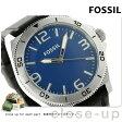 フォッシル クオーツ メンズ 腕時計 BQ1170 FOSSIL ブルー×ブラック