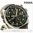 フォッシル ウェイクフィールド クロノグラフ CH2944 FOSSIL メンズ 腕時計 クオーツ ブラック×ブラウン【あす楽対応】