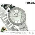 フォッシル バージニア クオーツ レディース 腕時計 ES3282 FOSSIL シルバー【あす楽対応】